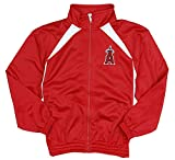 Los Angeles Angels of Anaheim MLB Little Boys and Big Boys Full Zip Tricot Team Jacket