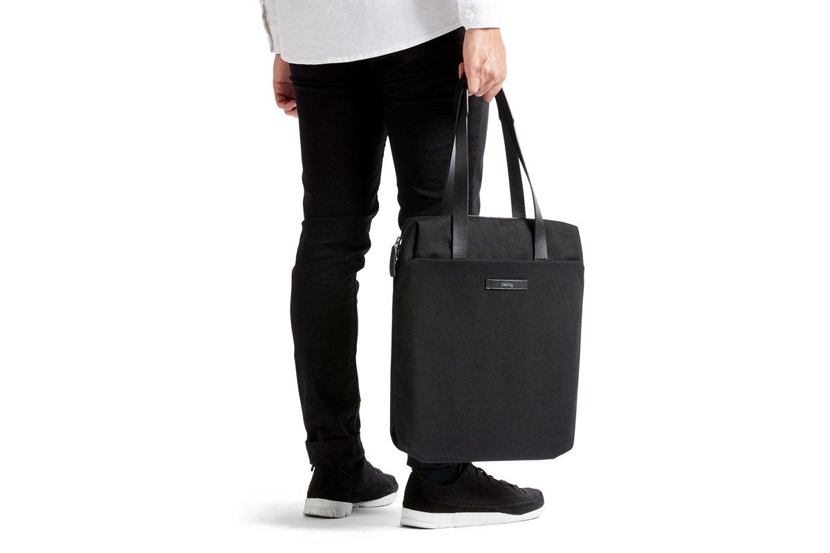 Bellroy Slim Work Tote (13 liters, 15'' laptop)-Black by Bellroy (Image #7)