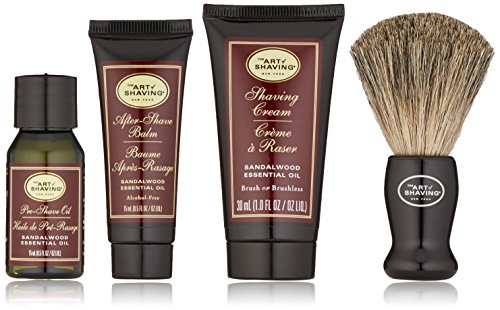 The Art of Shaving Starter Kit, Sandalwood