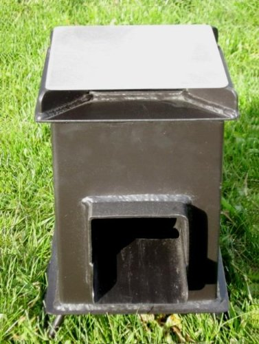 Heavy duty grover rocket stove adparitio for Heavy duty rocket stove