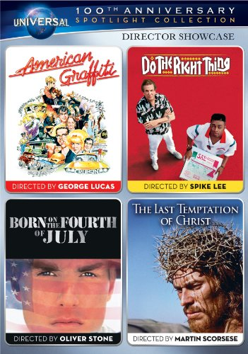Director Showcase Spotlight Collection (American Graffiti / Do the Right Thing / Born on the Fourth of July / The Last Temptation of - Ford Miguel Tom