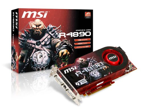 MSI Radeon HD 4890 1 GB GDDR5 Video Card  R4890-T2D1G OC [Retail]