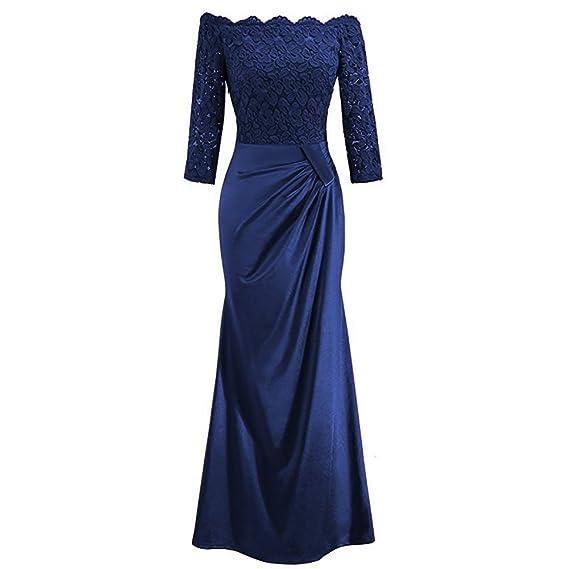 Damen Brautjungfern Hochzeit Ballkleid Partykleid Abendkleid Cocktailkleid 2019