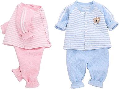 Pauboli - Pijamas de algodón orgánico para bebé (2 piezas ...