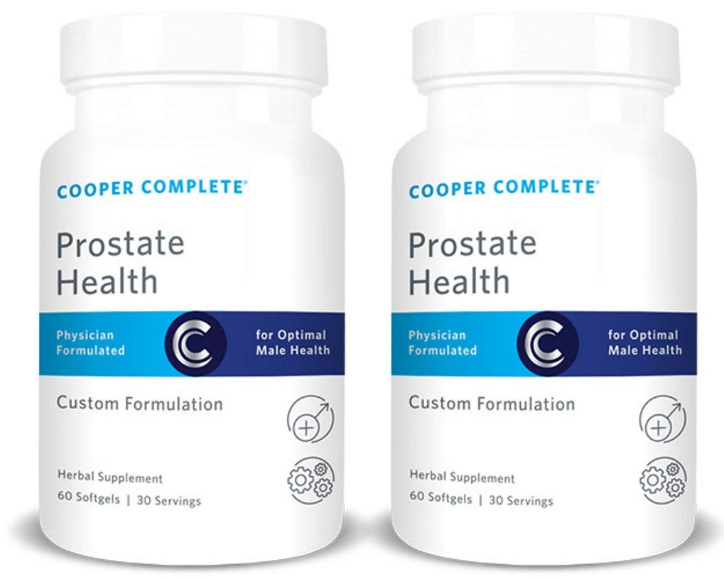 Cooper Complete - Prostate Health Supplement - Saw Palmetto, Lycopene, Pygeum - 60 Day Supply