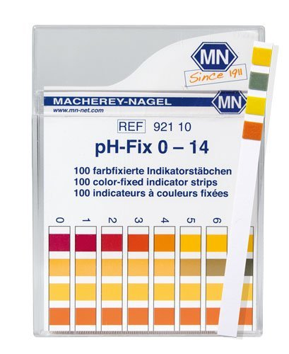 Macherey-Nagel 92110 0-14 pH Indicator Strips ()