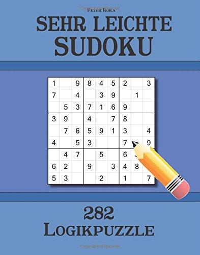 Sehr leichte Sudoku 282 Logikpuzzle