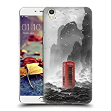 Official Daniel Conway Phonebooth Surreal Scenery Soft Gel Case for Oppo R9 Plus