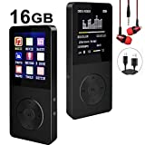 Mp3 Player, Hotechs Hi-Fi Sound, with FM Radio, Recording Function Build-in Speaker Expandable Up to 64GB with Noise Isolation Wired Earbuds ¡