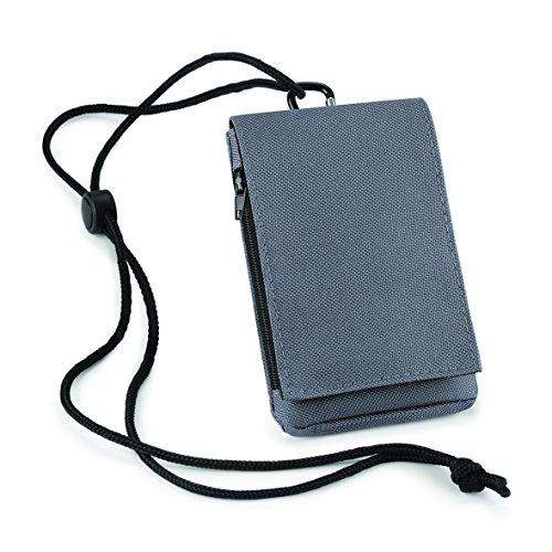 de de de velcro bolsas hombro con cierre viaje en Bolso para de Grafita móvil Gris cartera blanco qBwY7P8