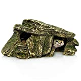 Gecko Cave for Small Reptile (packaged with a water bowl)