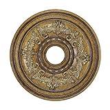 Livex Lighting 8200-57 Ceiling Medallion, Venetian Patina