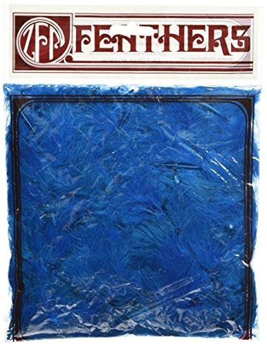 Zucker Feather (TM) - Loose Turkey Marabou Dyed - Dark (Blue Holiday Craft)