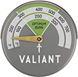 Valiant FIR116 The Magnetic Thermometer is Designed to Display Clearly to Enable The Owner Safe and efficient Operating Temperature and to Assist to optimise The Fuel Consumption and Maintain Maximum Performance, Green/Grey, 63mm