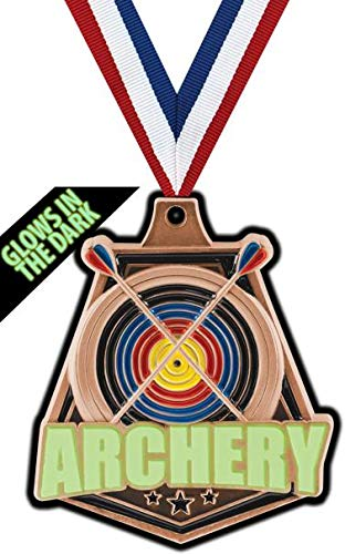 Crown Awards Bronze Archery Medals - 2