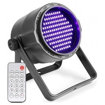 Proyector Projo 120 LED, luz negra UV + DMX + batería + mando a ...