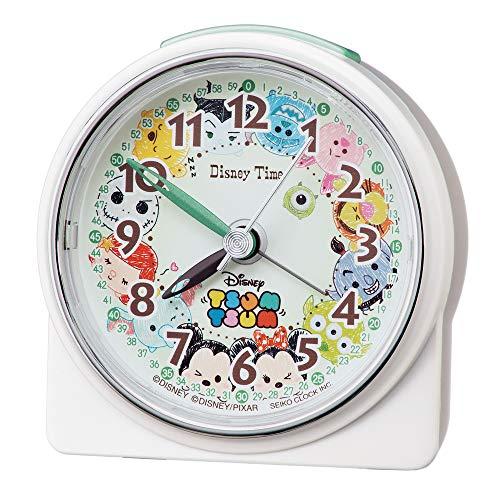 세이코 clock 탁상시계백 펄 본체 사이즈아쥬반 VANT)Re:8.9×8.6×4.7cm 자명종 디즈니쯔무쯔무 아날로그 FD481W