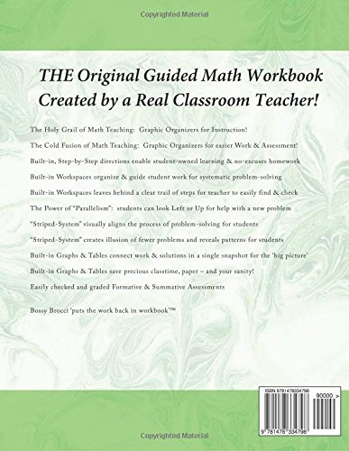 Amazon.com: Bossy Brocci's Pre-Graphing Teacher Workbook ...