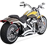 Vance and Hines Big Radius 2-Into-2 Full System Exhaust for Harley Davidson 201 - One Size