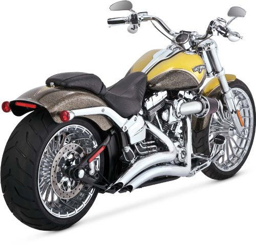 Vance And Hines Big Radius 2 Into 2 - 8