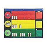 Fun Express Stop Light Pocket Chart - 51 Pieces