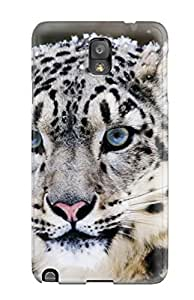 2015 For Galaxy Note 3 Tpu Phone Case Cover(snow Leopard) 4543911K41148154