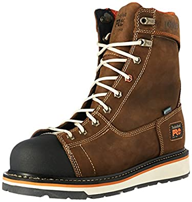 Timberland PRO Men's Gridworks 8 Soft Toe Waterproof Industrial and Construction Boot