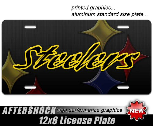 Steelers License Plate steeler nation pittsburgh from SteelerMania