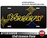 Steelers License Plate steeler nation pittsburgh