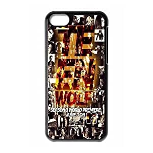 Unique Design Case for iPhone 5c w/ Teen Wolf image at Hmh-xase (style 4) by gostart by paywork