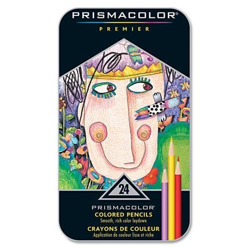 B00006IEEU Prismacolor Premier Soft Core Colored Pencils, Assorted Colors, Set of 24 51jKNcI%2BCDL