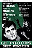 The Trial Poster Belgian 27x40 Anthony Perkins Jeanne Moreau Orson Welles