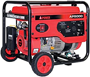 A-iPower AP5000V Gas Powered Portalable Generator