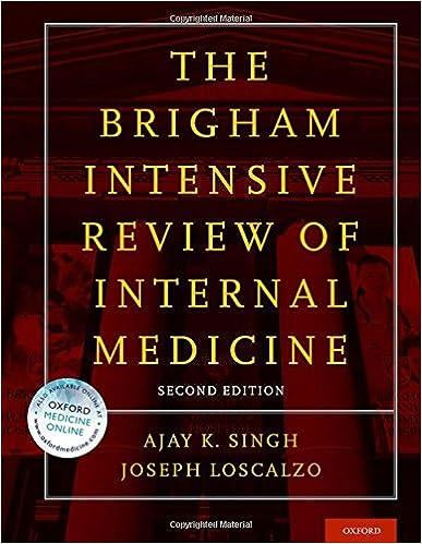 Brigham Intensive Review of Internal Medicine: 9780199358274