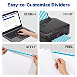 Avery Index Maker Clear Label Dividers, Easy