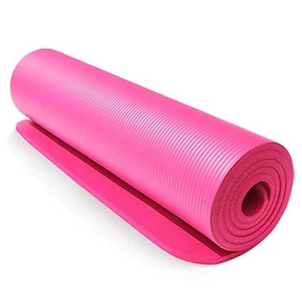 LieXing Estera De Yoga De 10 Mm, Almohadilla De Ejercicio ...