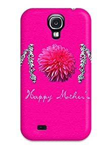 Awesome Happy Mothers Day Flip Case With Fashion Design For Galaxy S4