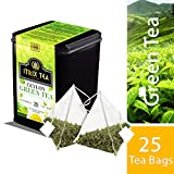 Cheap Itrix Pyramid Style Ceylon Green Tea in Metal Caddy/ /25 Tea bags/for weight Loss and Increased Metabolism/Luxury Pyramid