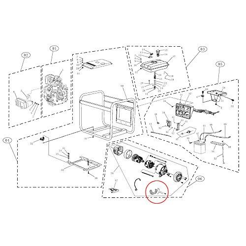 Spare Part Generator Avr Wjd3050t Amazon Co Uk Garden Outdoors