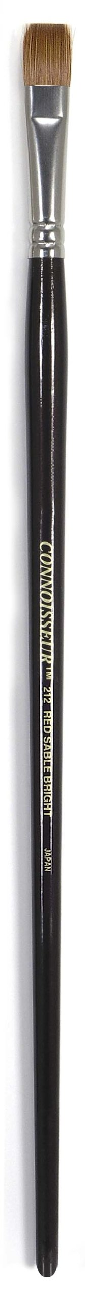 Connoisseur Pure Red Sable Brush, #12 Bright