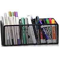 MINIMA Magnetic Pencil Holder - 3 Generous Compartments Magnetic Storage Basket Organizer - Extra Strong Magnets…