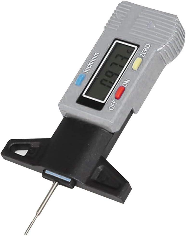 Swiftswan High Precision Electronic Digital Display Tread Gauge 0-30Mm Tread Gauge Depth Vernier Caliper