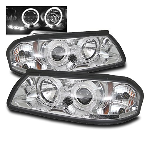 chevy impala chrome headlight - 5
