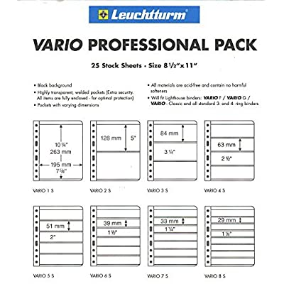 25 Lighthouse VARIO 3S pages - Professional Pack: Toys & Games