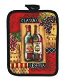 Kay Dee Designs Potholder, Cotton, 7-Inch by 9-Inch, Classico Reserva