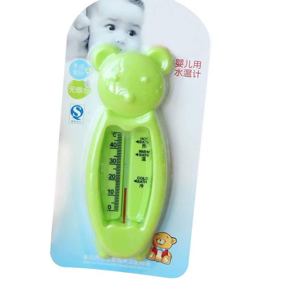 Baby Sensor Water Thermometer Cartoon Bear Shape Bathtub Water Tester for Infant Newborn Random Color Naisidier