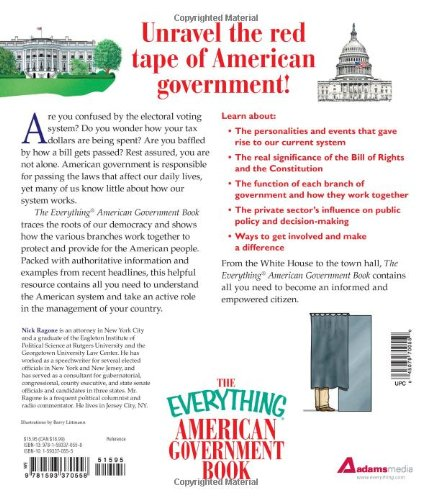 The Everything American Government Book: From the Constitution to ...
