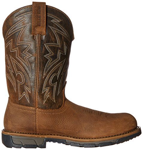 Ierse Setter Work Mens Marshall 11 Pull On Steel Teen Work Boot Brown