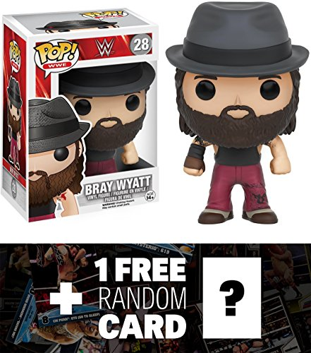 Bray Wyatt: Funko POP! x WWE Vinyl Figure + 1 FREE Official WWE Trading Card Bundle (092689) by WWE