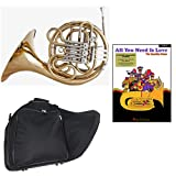 Band Directors Choice Double French Horn Key of F/Bb Lennon & McCartney Play Along Pack; Includes Intermediate French Horn, Case, Accessories & Lennon & McCartney Play Along Book